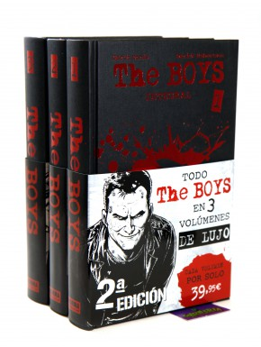 The Boys Edición Integral Pack Vol1, 2 y 3