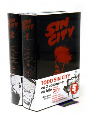 Sin City Edición Integral Pack Vol1 y 2
