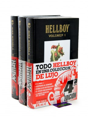 Hellboy Edición Integral Pack Vol1, 2 y 3