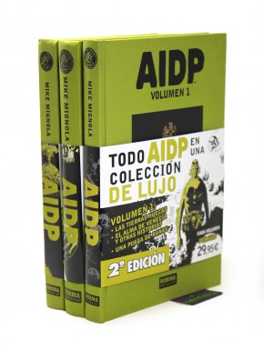 AIDP Edición Integral Pack Vol 1, 2 y 3