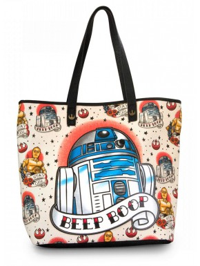 Bolso Grande R2D2 Star Wars Tattoo