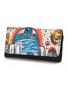 Cartera Loungefly R2-D2 Star Wars Tattoo