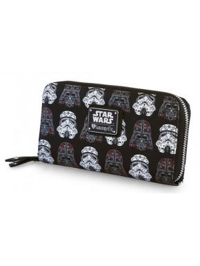 Cartera Cascos Darth Vader y Stormtrooper Star Wars