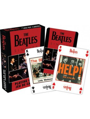 Baraja Poker The Beatles Singles