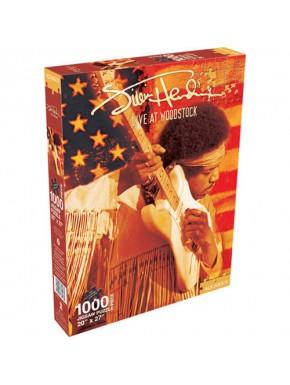 Puzzle Jimi Hendrix Woodstock 1000 piezas