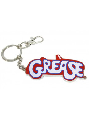 Llavero de metal Grease Logo