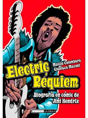 Biografía en cómic de Jimi Hendrix Electric Requiem