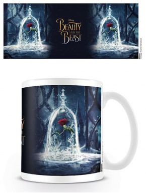 Taza Disney Bella y Bestia Enchanted Rose