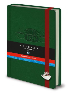 Libreta Premium Friends Central Perk
