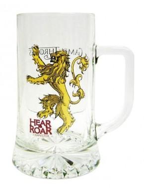 Taza cerámica Hear me Roar Lannister  De Juego de Tronos
