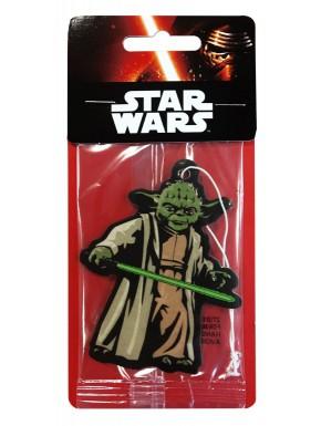 Ambientador papel coche Yoda