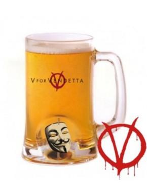 Jarra cristal V de Vendetta