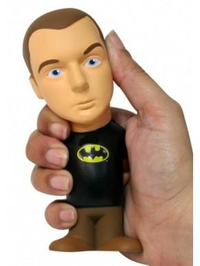 Figura Antiestrés Sheldon Cooper Batman 14 cm