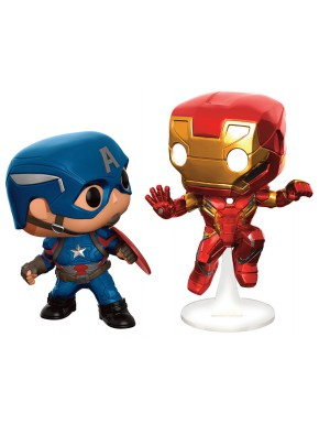 Set Funko Pop! Civil War Battle Collector Corps Edition