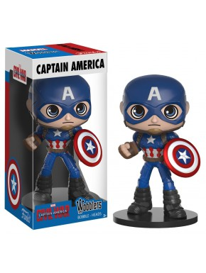 Funko Wobbler Capitán América Marvel