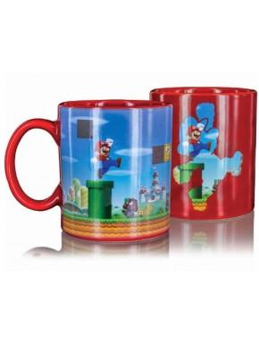 Taza térmica Súper Mario Bros.
