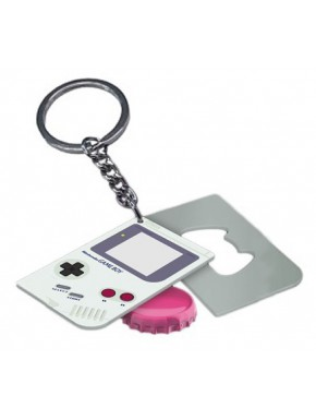 Llavero con Abrebotellas Game Boy Nintendo