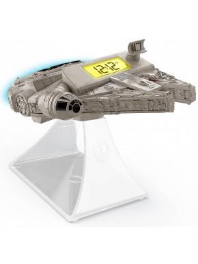 Despertador Halcón Milenario Star Wars con luz y sonidos