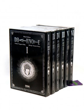 Colección 6 cómics Death Note Black Edition
