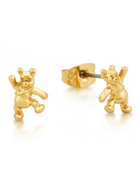 Pendientes oro Winnie The Pooh Disney