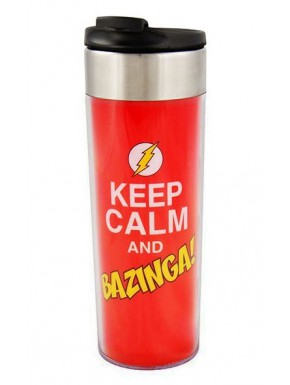 Vaso Termo Big Bang Theory Bazzinga!