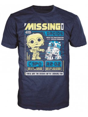 Camiseta Funko Pop! Androides Star Wars