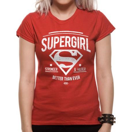 Camiseta Chica Supergirl