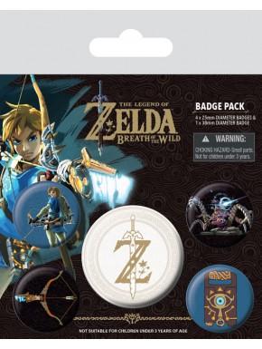 Pack de Chapas Zelda Emblemas