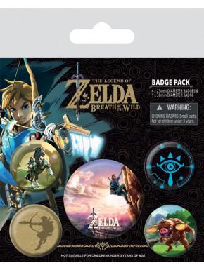 Pack de Chapas Zelda Escalada