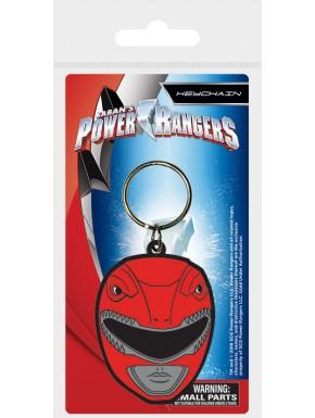 Llavero caucho Power Rangers Rojo