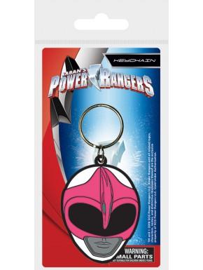 Llavero caucho Power Rangers Rosa