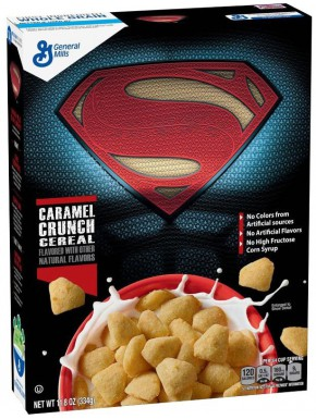 Cereales Superman Cramel Crunch