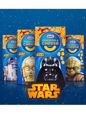 Macarrones con Queso Star Wars Kraft Macaroni & Cheese