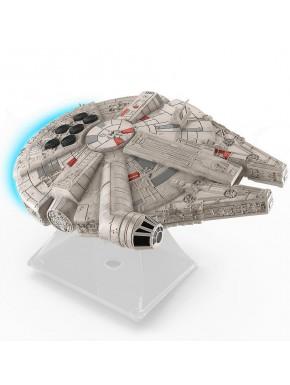 Altavoz Bluetooth Halcón Milenario Star Wars con luz