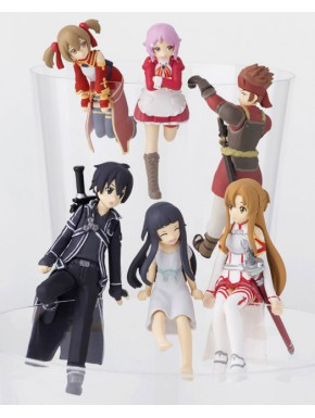 Figuritas Sorpresa Sword Art Online Putitto Series