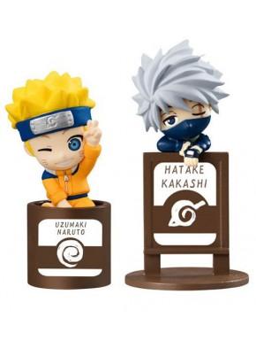 Set 2 figuras Naruto y Kakashi Shippuden Ochatomo Series