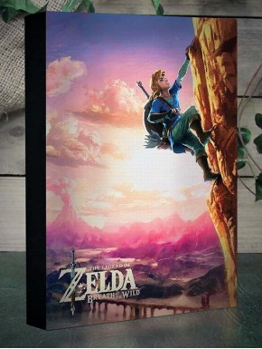 Cuadro con luz Zelda Breath of the Wild