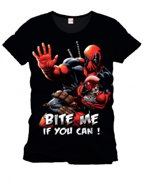 Camiseta Deadpool Bite Me