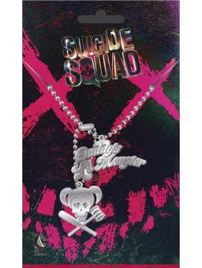 Escuadrón Suicida Chapas de identificación Harley Quinn
