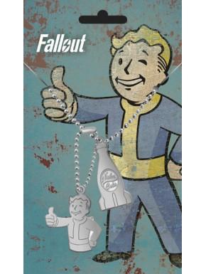 Fallout Chapas de identificación Nuka Cola