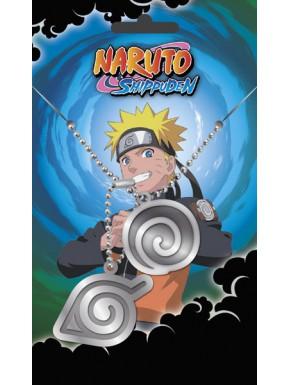 Naruto Chapas de identificación