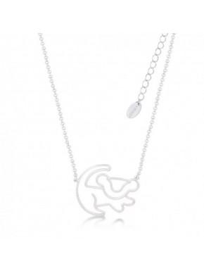 Mini Colgante oro blanco Simba Rey León Disney
