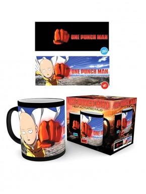 One Punch Man Taza térmica