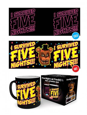 Five Nights at Freddy's Taza térmica I Survived