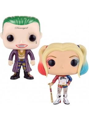 Funko Pack! Joker y Harley Quinn Escuadrón Suicida