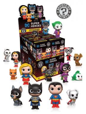 Minifiguras Sorpresa Dc Comics Héroes y Mascotas Funko