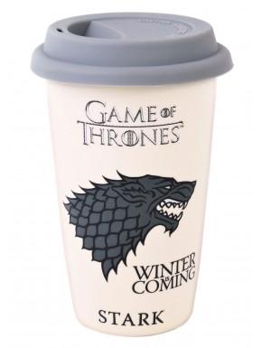 Taza de viaje Stark Juego de Tronos