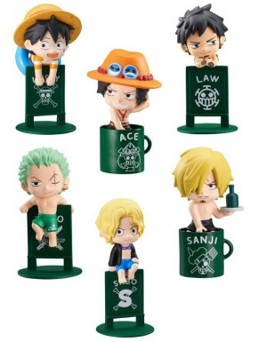 Figuritas Sorpresa One Piece Ochatomo Series Pirates Vacation