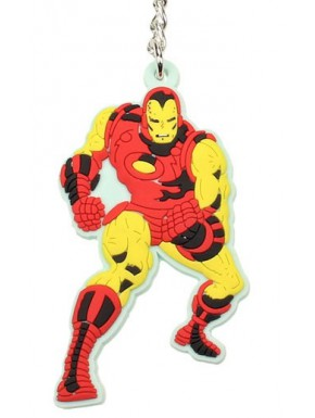Llavero caucho Iron Man Marvel
