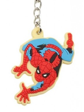 Llavero caucho Spiderman Marvel